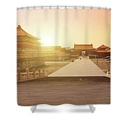 Inside The Forbidden City Shower Curtain
