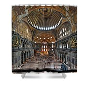 Interior, Hagia Sophia Museum Shower Curtain