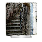 Into The Fort Shower Curtain
