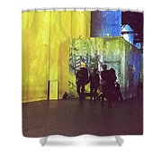 Into The Picture Shower Curtain