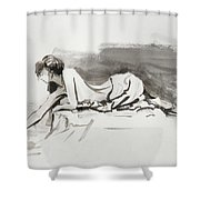 Introspection Shower Curtain by Steve Henderson