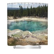 Inviting.... But Deadly. Shower Curtain