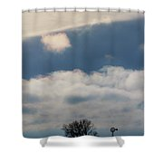 Iridescent Clouds 02 Shower Curtain by Rob Graham