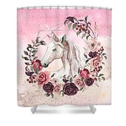 Irresistible Force Shower Curtain by Bee-Bee Deigner