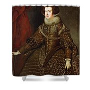 Isabella  Queen Of Spain  Shower Curtain