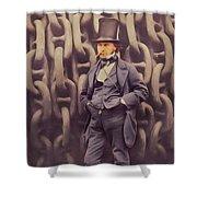 Isambard Kingdom Brunel, Genius Shower Curtain