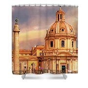 It Ain't Half Hot Mum, Rome Shower Curtain