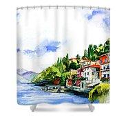 Italian Summer Vacation Shower Curtain