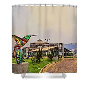 Itchimbia Park Shower Curtain