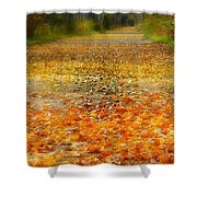 It's Crunch Time Shower Curtain