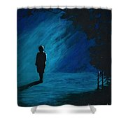 It's Just A Matter Of Time Shower Curtain