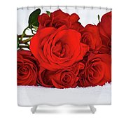 It's Over Shower Curtain