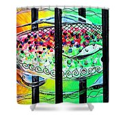 Jail Fish 135826 Shower Curtain