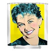 Janette Scott 2 Shower Curtain