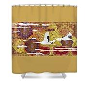 Japanese Modern Interior Art #131 Shower Curtain