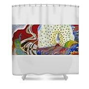 Japanese Modern Interior Art #153 Shower Curtain