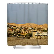 Jericho Town Shower Curtain