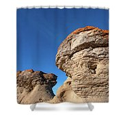 Jerusalem Geology Shower Curtain