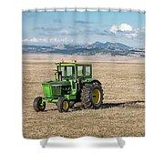 John Deere 4020 Shower Curtain