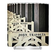 John Travolta In Deauville Shower Curtain