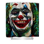 Joker Joaquin Phoenix Shower Curtain