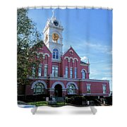 Jones County Court House - Gray, Georgia Shower Curtain