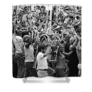 Joy Is Evident Shower Curtain