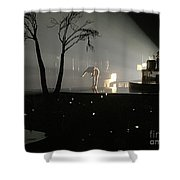 Jt Bowing Shower Curtain