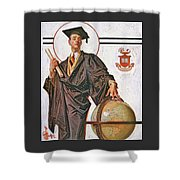June Graduation - Digital Remastered Edition Shower Curtain