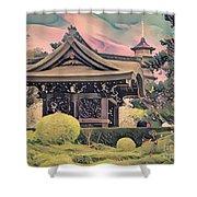 Kanagawa - The Japanese Garden Shower Curtain