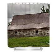 Kansas Barn Shower Curtain