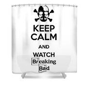 Keep Calm Breaking Bad Shower Curtain