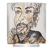 Kenny Loggins The Soundtrack King Shower Curtain