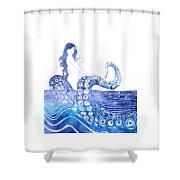 Keto Shower Curtain