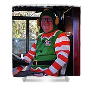 Kevin The Elf Shower Curtain