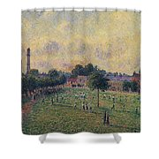 Kew Gardens, 1892 01 Shower Curtain