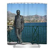 King Alfonso Xii Shower Curtain