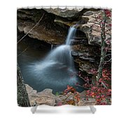 Kings River Falls Shower Curtain