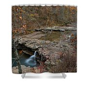 Kings River Waterfall Shower Curtain