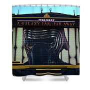 Klo Ren On The Star Wars Stage Hollywood Studios Shower Curtain