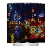 Kolorations 1 Shower Curtain