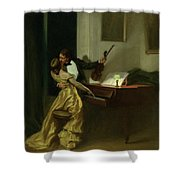 Kreutzer Sonata, 19th Century Shower Curtain