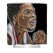 Kyle Lowry Shower Curtain