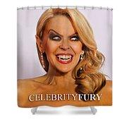 Kylie Minogue Shower Curtain