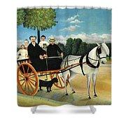 La Carriole Du Pere Junier - Digital Remastered Edition Shower Curtain