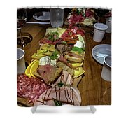 La Locanda Del Prosciutto Shower Curtain