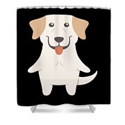 Labrador Retriever Gift Idea Shower Curtain