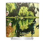 Lac D'or Shower Curtain