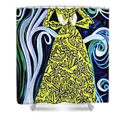 Lady Lou Shower Curtain