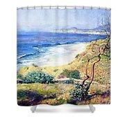 Laguna Shores 1916 Shower Curtain